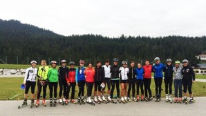 Roller Skiing was also on the programme of the ladies' seminar [P] FIS