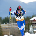 Annika Hicks in the qualifier for Frozen Thunder Classic Sprint [P] Pam Doyle