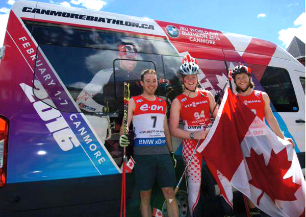 Biathlon Canada team bus [P]