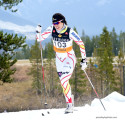 Emily Nishikawa wins the Open Women's race @ Frozen Thunder [P] Pam Doyle