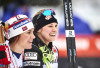 Norway's Heidi Weng (l) and Jessica Diggins (USA) [P] Nordic Focus