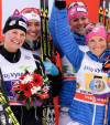 FIS world cup cross-country, 4x5km women, Nove Mesto (CZE)
