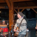 Live music was part of the Canmore Biathlon opening ceremonies [P] Pam Doyle