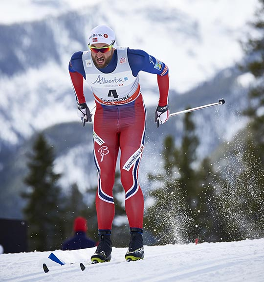 Petter Northug (NOR) in the controversial CL Sprint final [P] Nordic Focus