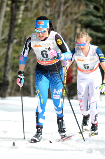 Parmakoski leading Diggins [P] Angus Cockney