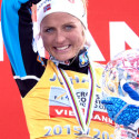 Therese Johaug wins overall WCup and fabled Crystal Globe [P] Pam Doyle