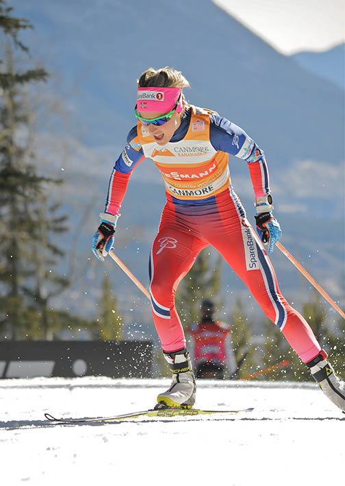 Therese Johaug (NOR) [P] Angus Cockney