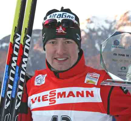 Babikov wins the final stage at the Tour de Ski in 2009 [P] Nordic Focus