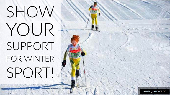 Show support winter sport N