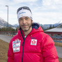 Para-Nordic cross country ski team member Brian McKeever