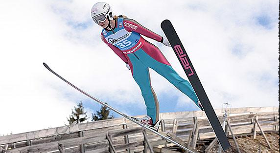 Tara Geraghty-Moats jumped to her first U.S. title in Lake Placid on Oct. 9 [P] USSA