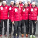Members of Canada's National XC team and ParaNordic team pose for a photo [P] Pam Doyle