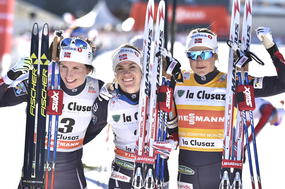 Women's podium [P] Nordic Focus