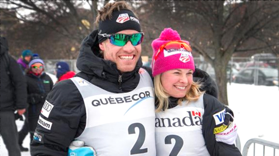 Simi Hamilton and Jessie Diggins, both of whom finished on the podium in the first stage at Ski Tour Canada last season, will lead the U.S. Team at the 2017 Nordic World Ski Championships next month [P] USSA