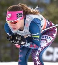 Katharine Ogden was named as one of the 12 athletes that will represent the USA at the 2017 USANA Nordic Junior World Ski Championships [P] USSA