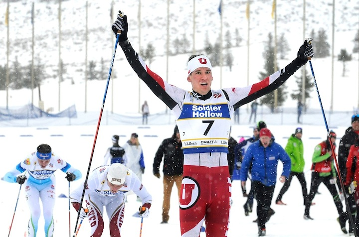 Kevin Bolger wins Classic Sprint at L.L.Bean U.S. Cross Country Championships [P] Tom Kelly/USSA