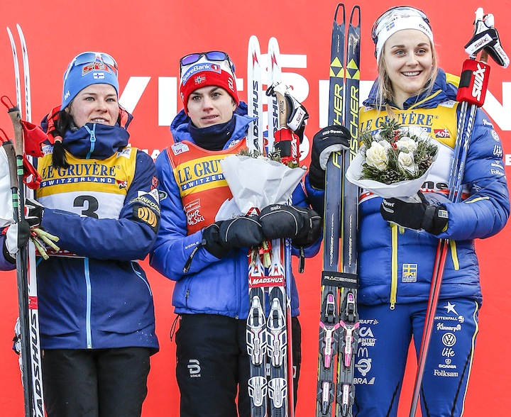 Women's final podium [P] Nordic Focus