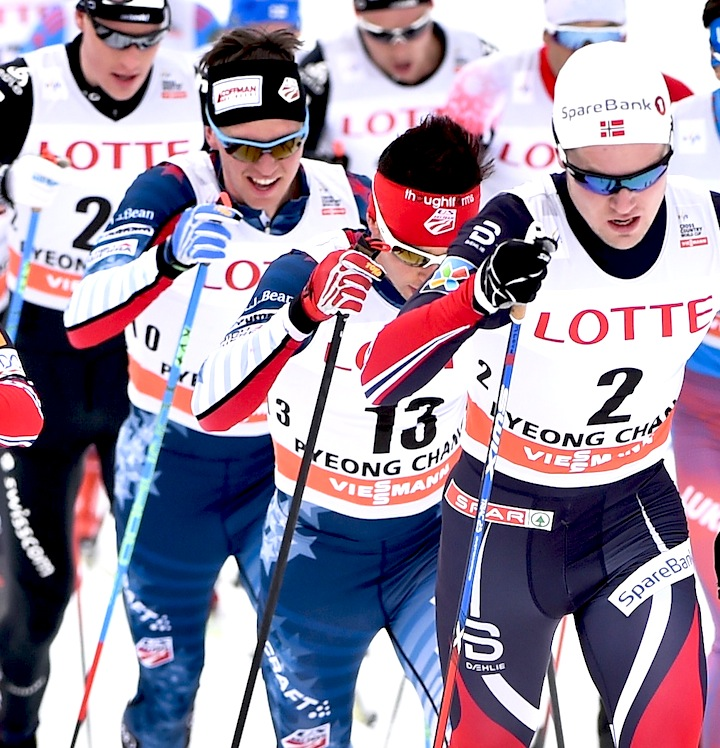 USA's Patterson (l) and Hoffman [P] Nordic Focus