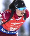 12.02.2017, Hochfilzen, Austria (AUT): Rosanna Crawford (CAN) - IBU world championships biathlon, pursuit women, Hochfilzen (AUT). www.nordicfocus.com. © NordicFocus. Every downloaded picture is fee-liable.