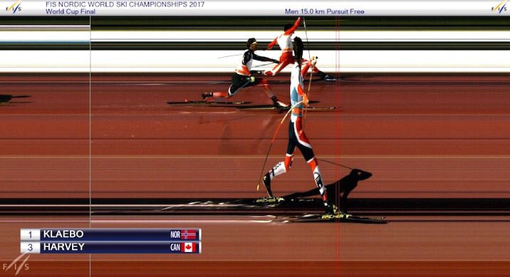 Harvey, Dyrhaug, Klaebo Photo finish [P] FIS
