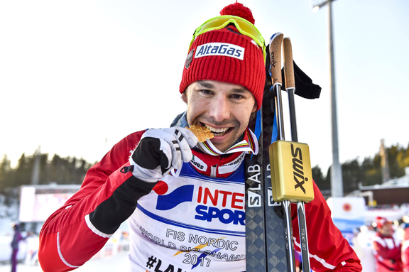 Canada's Alex Harvey savours GOLD [P] Nordic Focus
