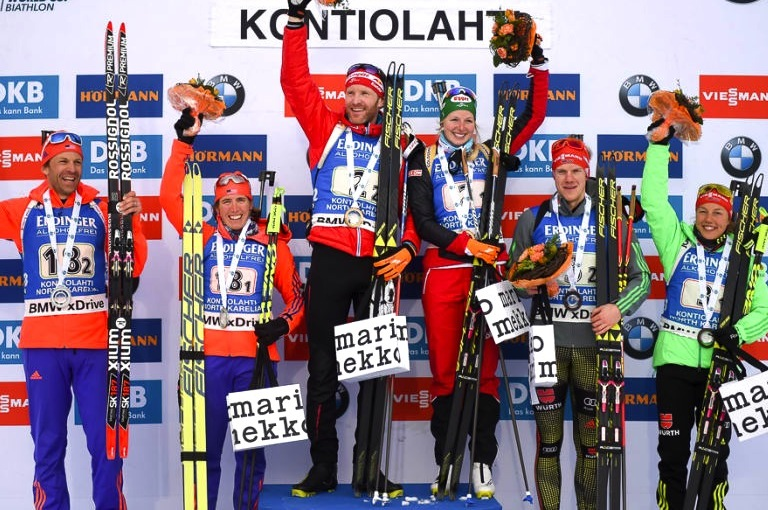 Mixed Single Relay Podium [P] Nordic Focus
