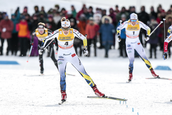 Stina Nilsson on her way to victory [P] Nordic Focus