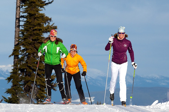 Silver Star offers iconic xc skiing [P] SS