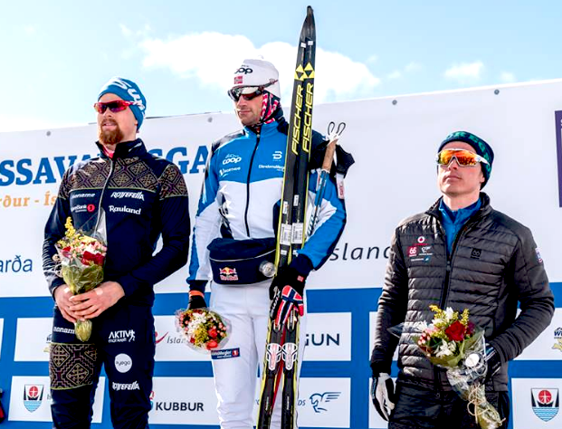 Men's 50k C podium [P] Gusti Photography
