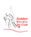 Golden Nordic Ski Club logo