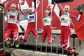 Women's relay team [P] CCC