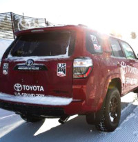 Toyota is entering its second year as the title sponsor of the U.S. Grand Prix [P] USSA