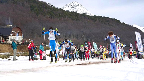Start of the Ushuaia Loppet 2017 [P] FIS