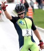 Antoine Cyr  wins Orford Roller Ski race [P] Reese Brown
