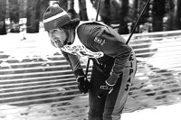 Reijo Puiras, seen during a cross-country race at the Canadian National Championships in the late 1970s. [P] courtesy of The Globe and Mail