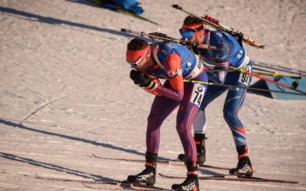 Tim Burke races during the 2016-17 World Cup season [P] Nordic Focus