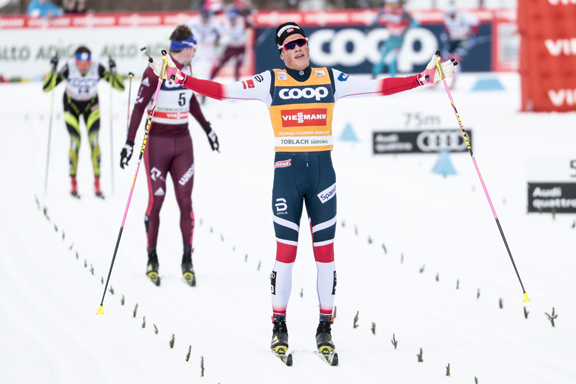 Johannes Klaebo sets new record with 7th win [P] Nordic Focus