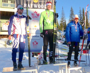 Open Men's Sprint Podium [P] Peggy Hung