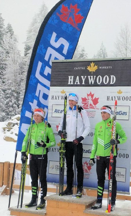 Senior Men's podium [P] CCC