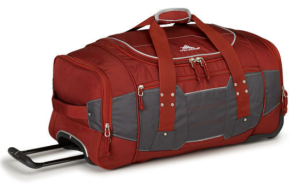6th Prize - CCC High Sierra Rolling Duffle Bag