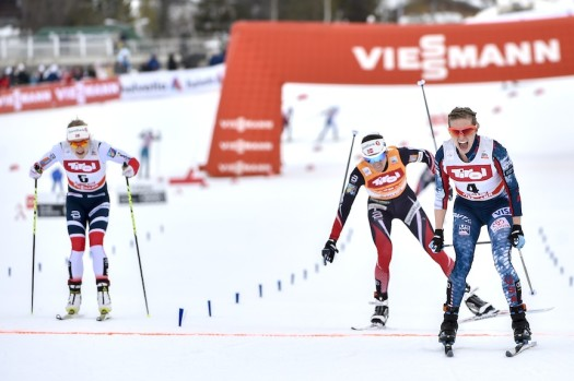 Jessica Diggins (USA) wins women's 10km FR [P] Nordic Focus