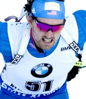 10.01.2018, Ruhpolding, Germany (GER): Sean Doherty (USA) -  IBU world cup biathlon, individual men, Ruhpolding (GER). www.nordicfocus.com. © Manzoni/NordicFocus. Every downloaded picture is fee-liable.