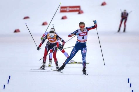50 feet from the finish [P] Nordic Focus