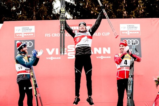 Historic 4th victory for Cologna [P] NordicFocus