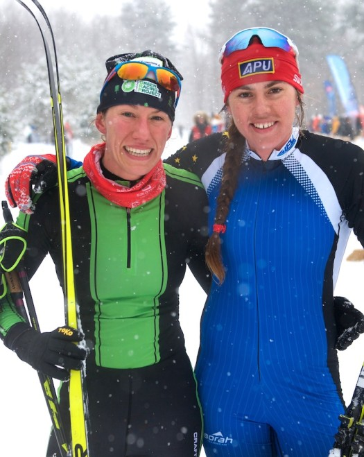 Kaitlynn Miller (l) and Becca Rorabaugh [P] Rob Smith