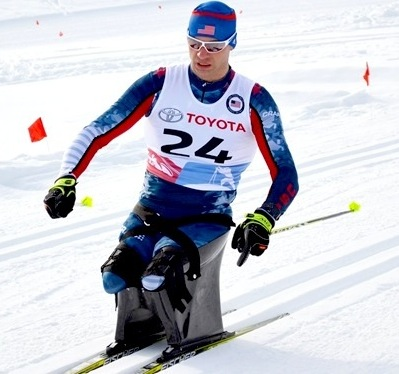 Andy Soule will compete in his third Paralympics in PyeongChang [P]