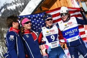 Team USA wins silver in the Men's Relay [P]