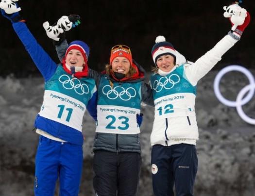 Women's podium [P] Nordic Focus