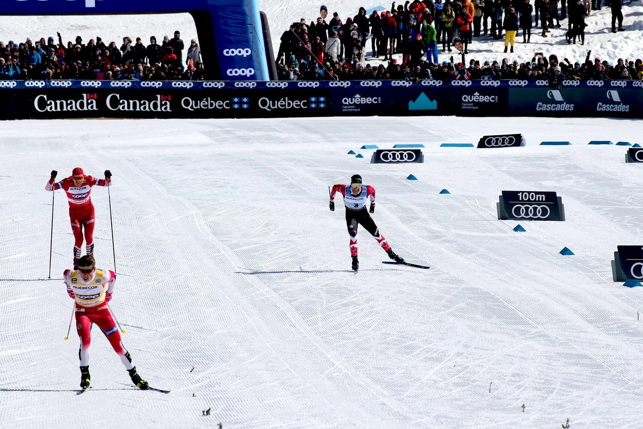 Canada's Harvey Takes Second Silver for Grand Finale in Quebec City